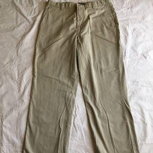 Dockers men's khakis tan pants waist 38 length 34